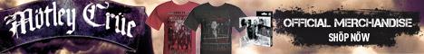 Motley Crue Official Merchandise - 2011