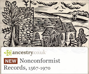 Nonconformist Records, 1567-1970