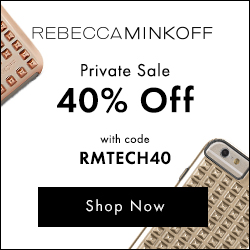 Shop The Exclusive Rebecca Minkoff Private Sale - Get An Extra 40% Off Tech Accessories w/code RMTEC