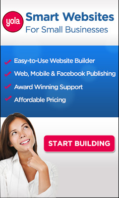 Domain Name + Hosting + Web Builder