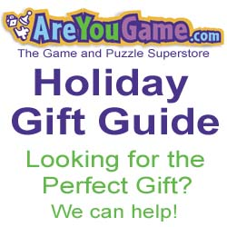 AreYouGame.com Game and Puzzle Gift Guide