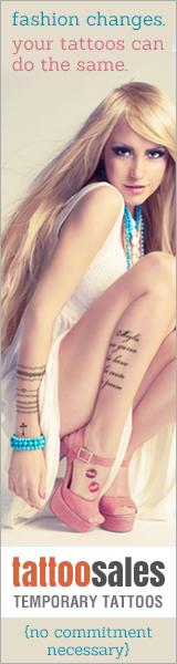 Fashion Temporary Tattoos