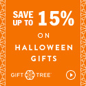 Save Up to 15% On Halloween Gifts