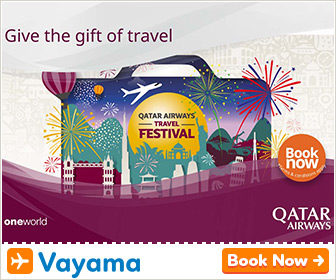 Vayama - Qatar Airways Travel Festival: Get 2017 off to a flying start