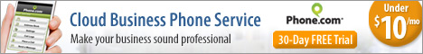 468x60 Cloud Business Phone Service