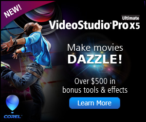 Corel VideoStudio Pro X3 Video Editing Software