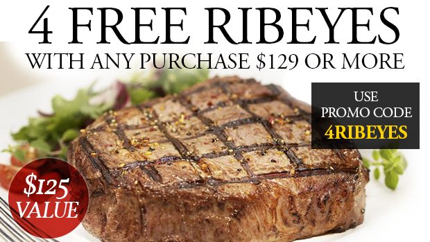Chicago Steak Company - Free 4 Ribeye