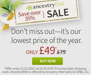Ancestry Black Friday / Cyber Monday Sale