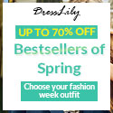 Dresslily - Up to 70% off for Spring clothes