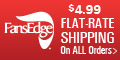 $4.99 Flat Rate Shipping on any size order