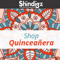 Shop Shindigz Quinceañera Products!