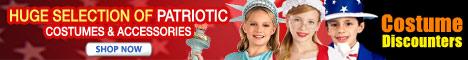 Get Patriotic Costumes at Costume Discounters