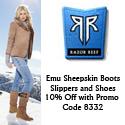 Razor Reef 10% Off EMU Boots Promo