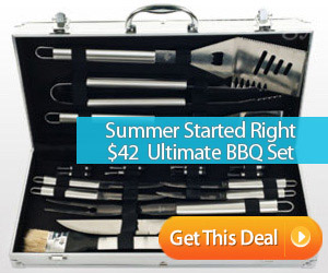 saveology grilling set bbq tools discount prices