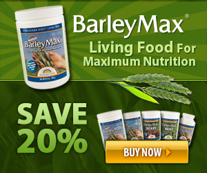 20% Off BarleyMax