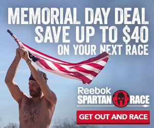 Spartan Race Memorial Day Exclusive Offer!