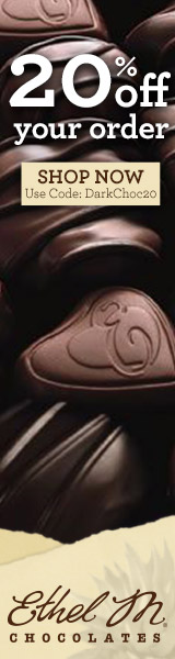 20% Off Your Order of Ethel M Chocolates. Use code: DARKCHOC20