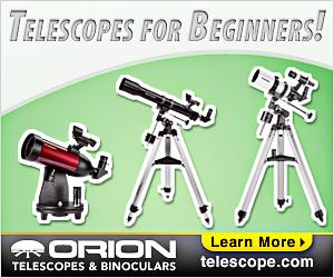 Orion's Best Beginner Telescopes
