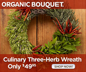 3-Herb Wreath Sale