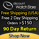 Free Shipping & Thousands of Designer Styles at DiscountWatchStore.com