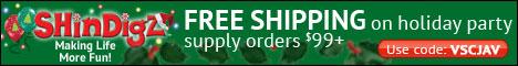 Save $5 on orders $65+ with BirthdayZbyShindigZ