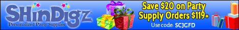 $3.95 Shipping on ShindigZ Party Supplies