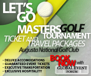 2011 Masters ticket packages