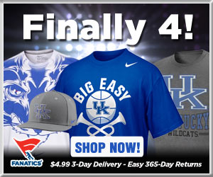Shop for 2012 Final 4 Kentucky Wildcats gear at Fanatics!