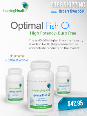 Optimal fish oil,High potency burp free