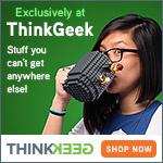 ThinkGeek Exclusives