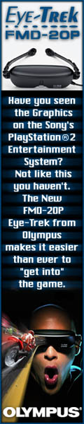 Eye-Trek, feel like your part of the game