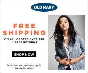 Get free shipping at Old Navy Canada.