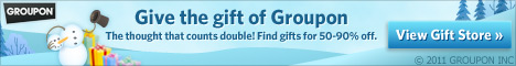 Holiday gifts at up to 90% off!
