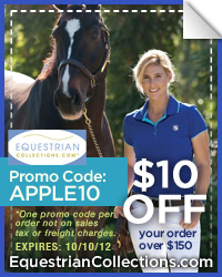 $10 Coupon on Equestrian Collections