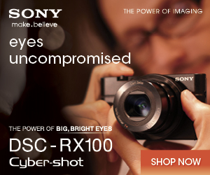 The award winning DSC-RX100 is a professional pocket camera that comes with a massive 1
