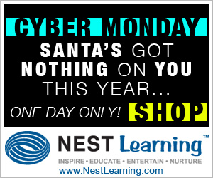 Cyber Monday Deals at NestLearning.com