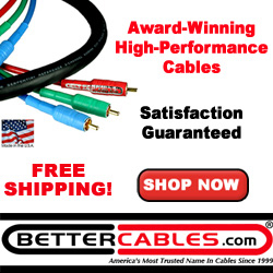 Silver Serpent Component Video Cables