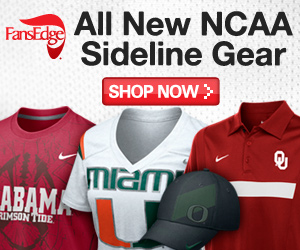Get 2011 NCAA Sideline Gear Now at FansEdge.com!