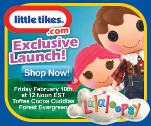 Exclusive Launch for New Lalaloopsy Dolls at Littl