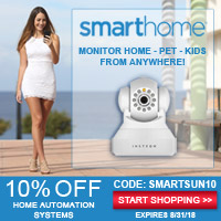 10% off with Coupon Code SMARTSUN10 - shop Smarthome.com now