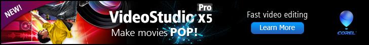 Corel VideoStudio Pro X5 Video Editing Software