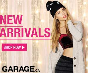 Get free shipping at Garage.ca.