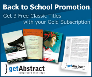 Back to School Promotion - 3 Free Classic Titles