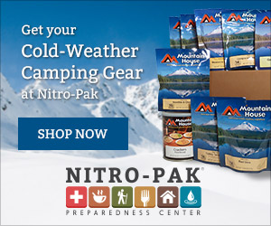 Get Your Cold-Weather Camping Gear at Nitro-Pak!