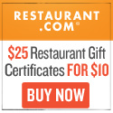 Restaurant certificates