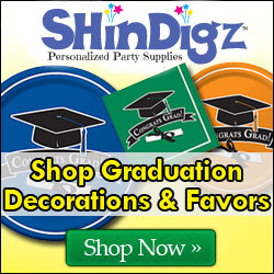 Shop graduation party supplies and decorations.