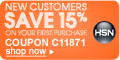 New Customers get 15% off with Coupon C50842
