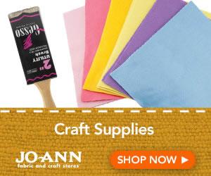 Crafts & Supplies at joann.com!