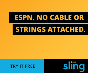 ESPN. No Cable. No Strings Attached. Try it Today. Sling TV.