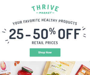 Purchase products through our Thrive Market online portal.